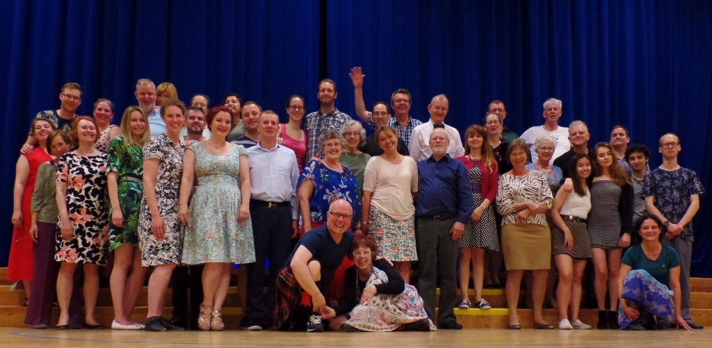 Photo of participants at the 2019 Summer Ceilidh